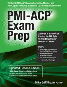 PMI-ACP exam prep book cover